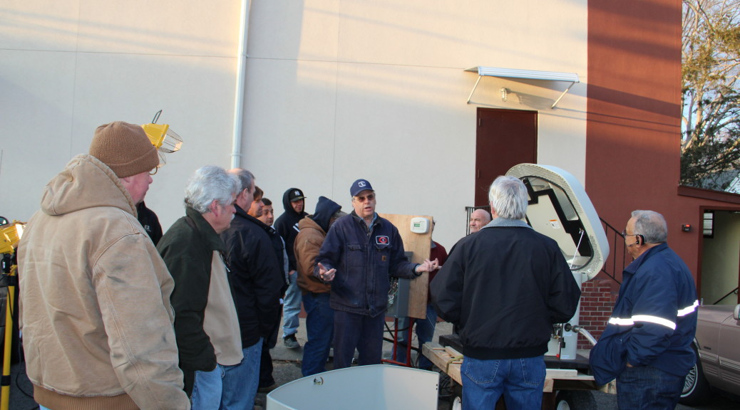 Dan O'Brienteaching class on Generators